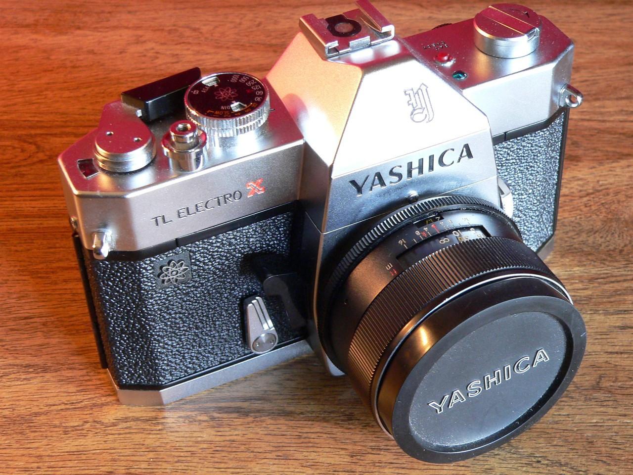 Yashica TL Electro-X Silver  (1969-1974)