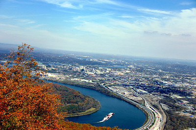 Tennessee River, Chattanooga