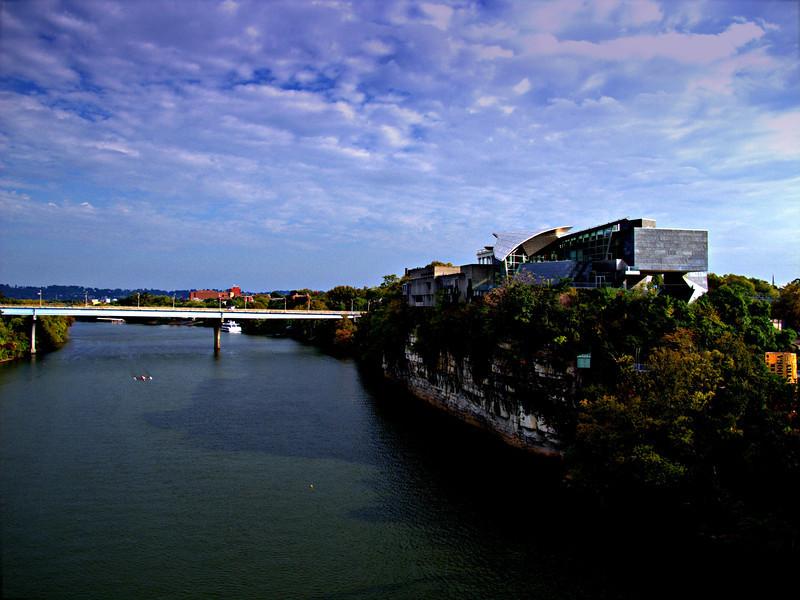 A view from walking bridge