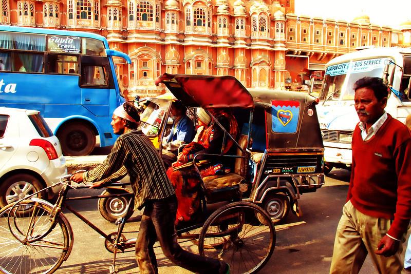 Rickshaw, Jaipur