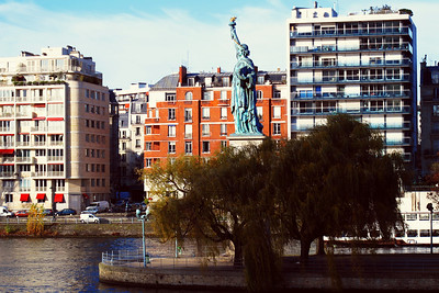 Paris - Another statue of liberty!!!