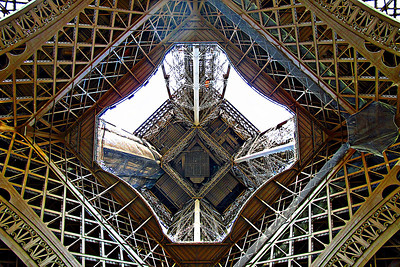 Eiffel - A view from below