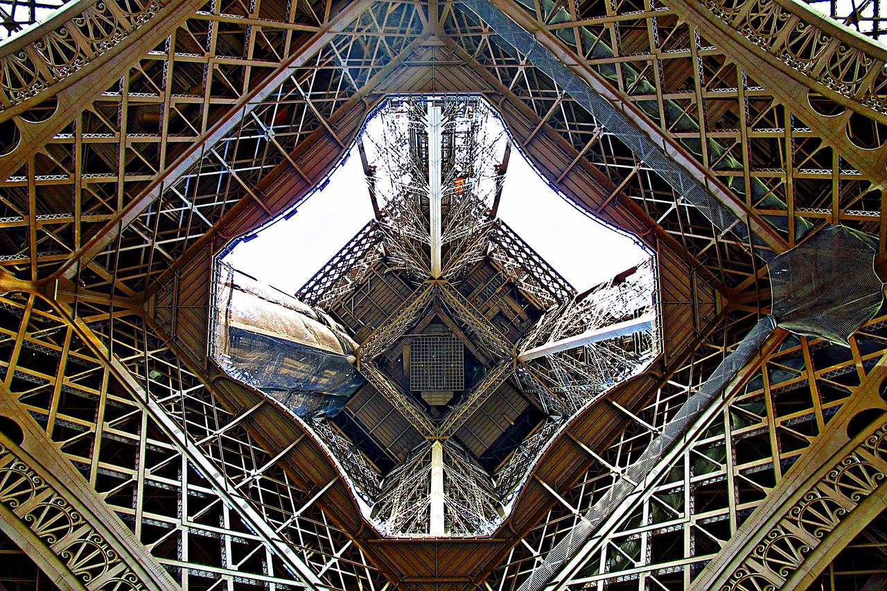 Eiffel - A view from below