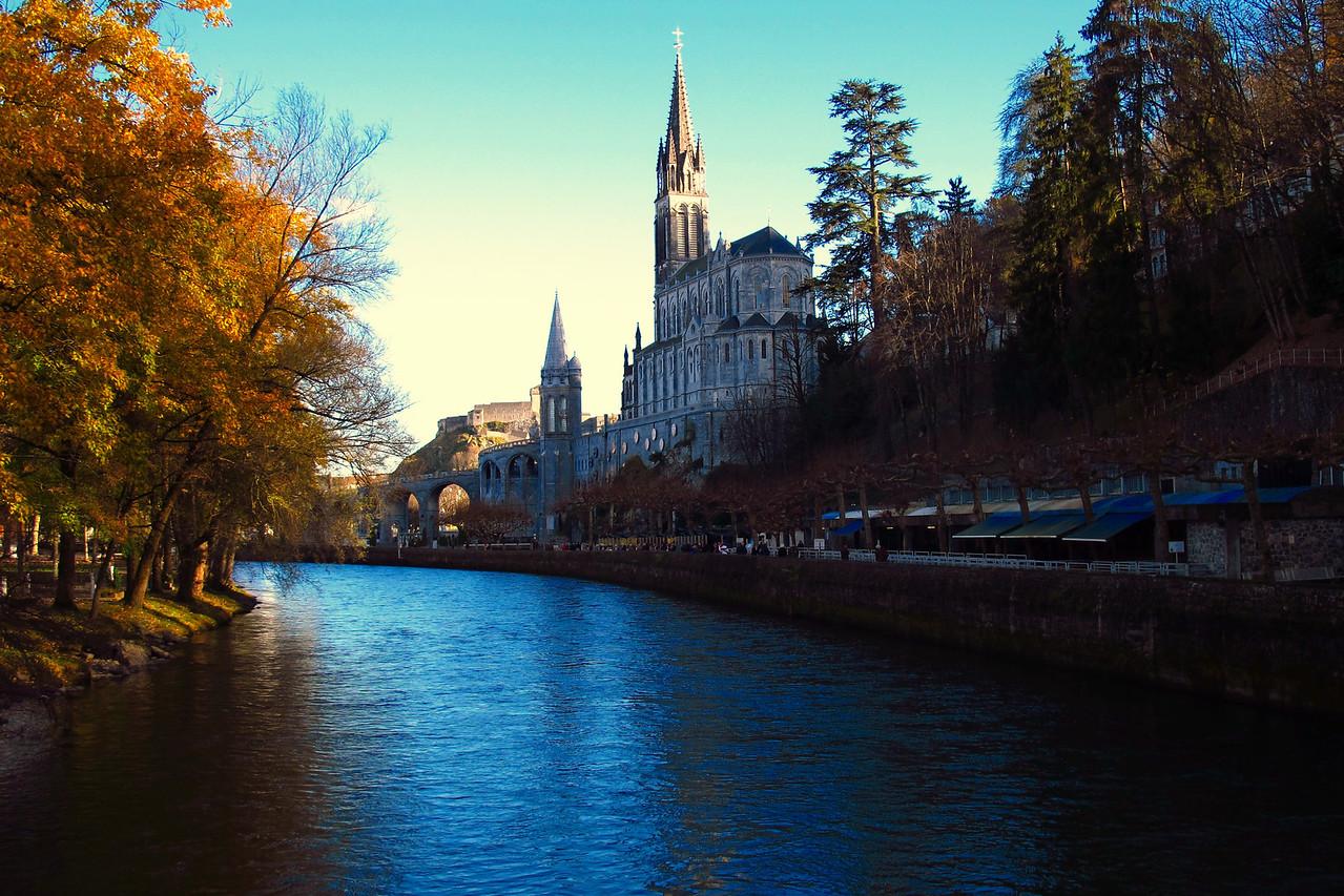 Lourdes Church, France