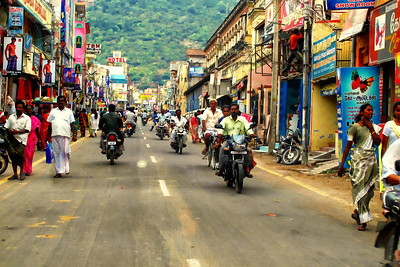 Streets of Thiruvannamalai