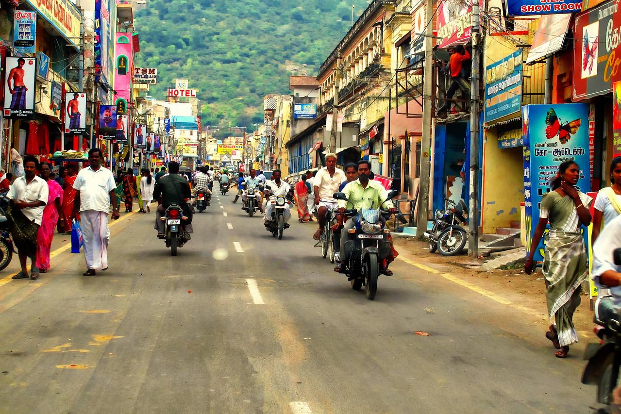 Streets of Thiruvannamalai