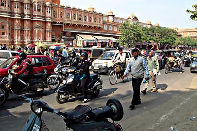 Jaipur Traffic