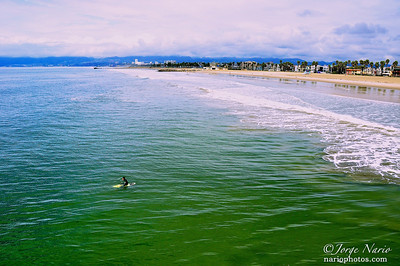 California Surfer in Emerald waters California, 2010 Asia photo shoot & Round the World