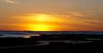 Sunset At Galveston State Beach