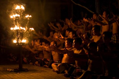 The phenomenal Kecak Dance