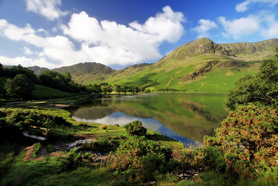 Smooth as Butter (Lake Buttermere, England. 2006)