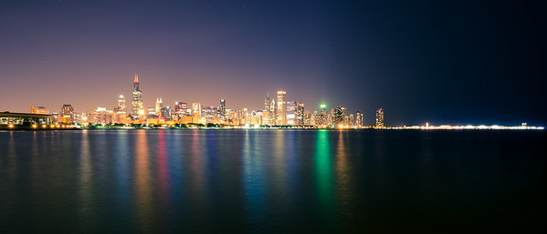 Glow of the Windy City