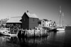 Motif #1 in Black and White