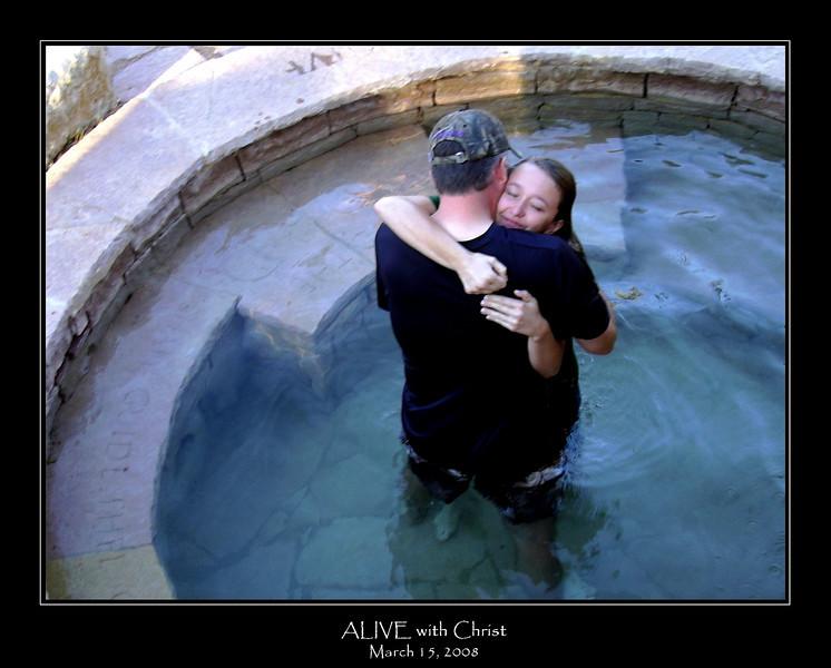 Morgan ALIVE with Christ framed