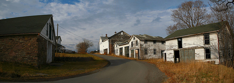 Hayfield  Farm Panorama