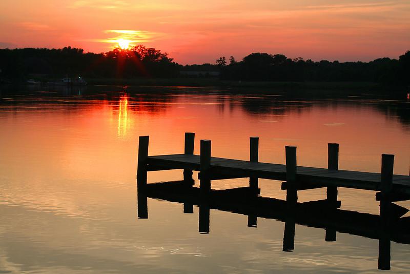 Sunset Dock