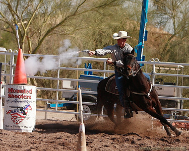 Mounted Shooters, Cave Creek, Cowboy Days