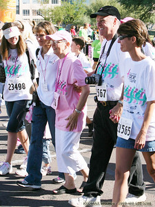 Joyce Gooding  Family // Susan G. Komen Race for the Cure - 2007