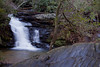 Pigpen Falls is a small falls deep in the woods