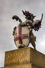 Just to the South of London Bridge is this lion marking the boundary of the city of London.