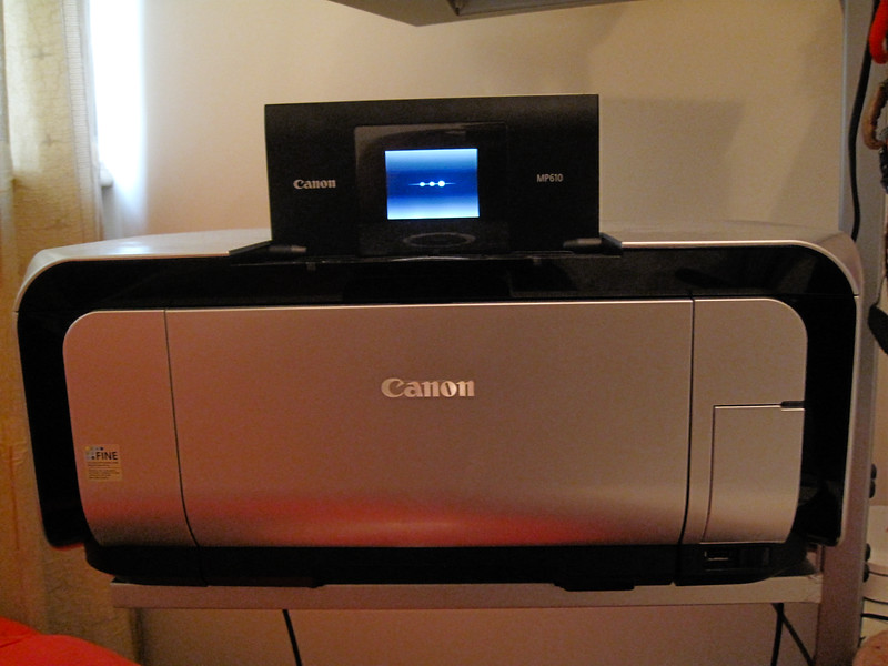 Another Canon ! The Pixma MP610 printer / scanner. Excellent printer from Canon. Very fast, colors are great and I use it for small prints or A4 size prints to gift to friends. Highly recommended printer.