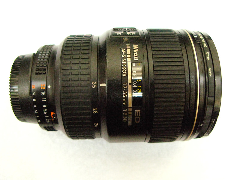 The AF-S Zoom-Nikkor 17-35mm f/2.8D IF-ED - One of my favt. lens and have used it extensively for people photography - provides very good wide-angle and is excellent. Highly recommended.