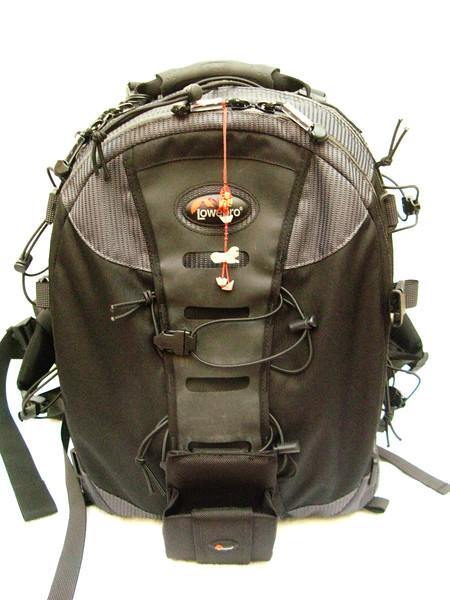 Lowepro - Nature Trekker AW II - I use it for my macro trips - It is very tough, waterproof and comes with day pack.