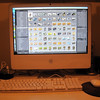 My lovely iMac from Apple - this is my workstation for all of my digital workflow.