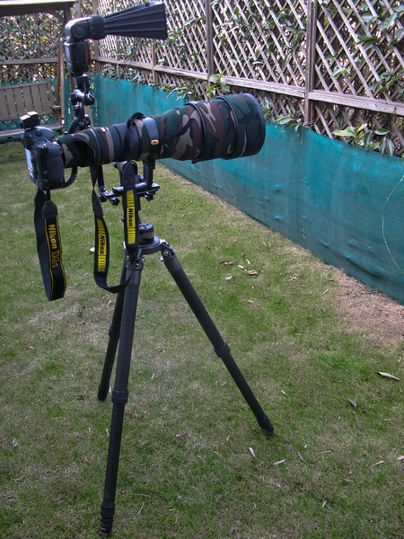 This is my complete setup for bird photography. Generally I dont carry the flash unit and related accessories unless weather or subjects need additional light support.