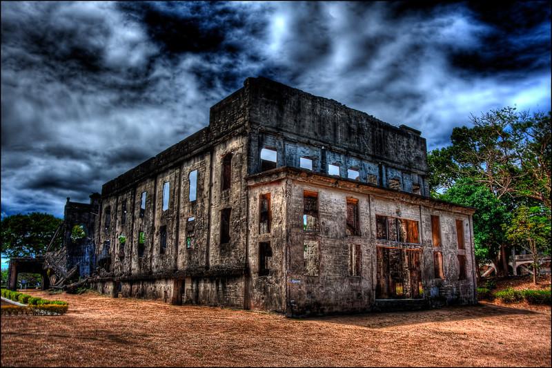 Officers club ruins, Corregidor Philippines