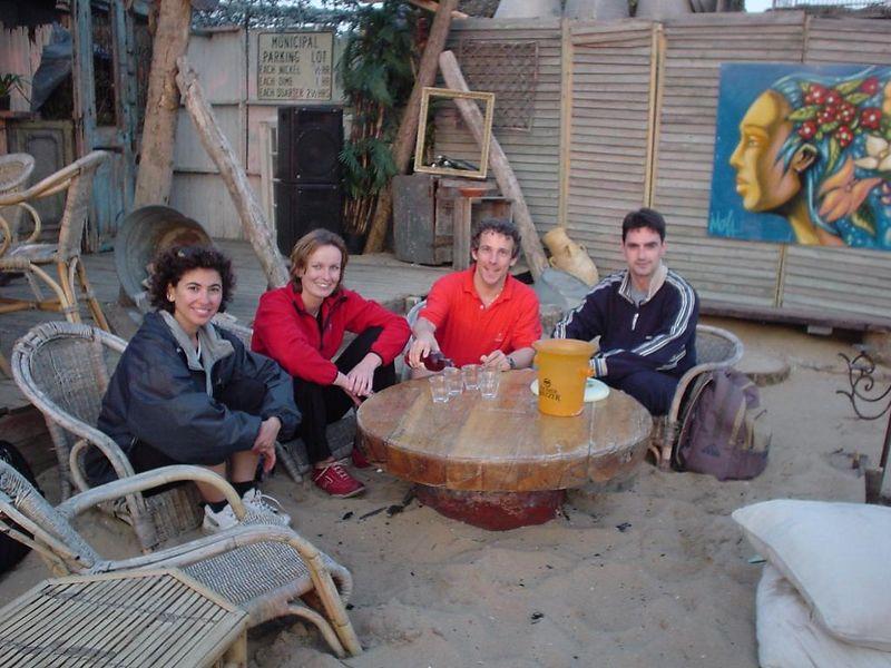 Tijen, Petra, Ineki and I