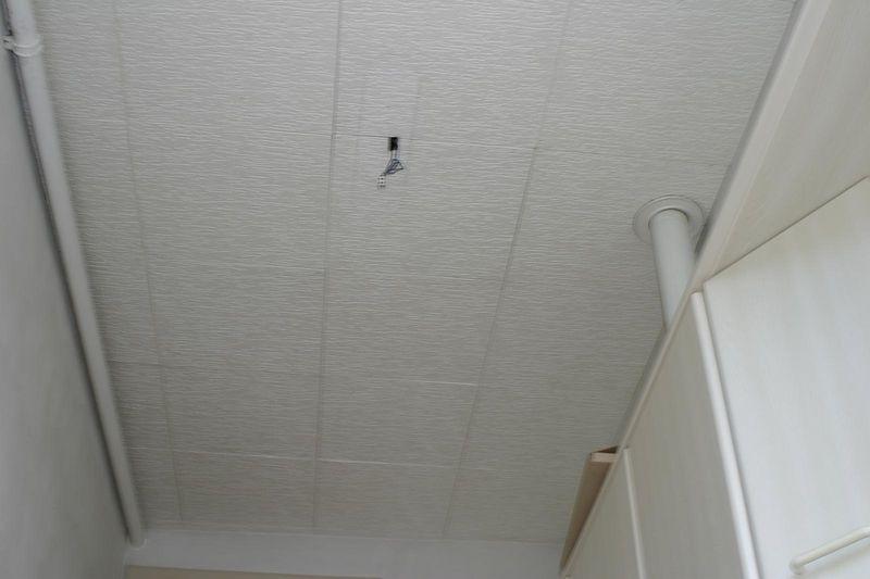 plafond keuken (met tegels)
