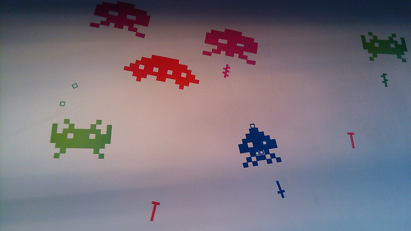 Space invaders by whatisblik.com