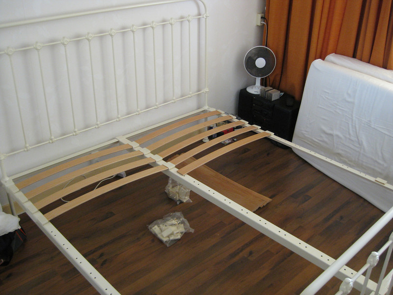 Assembly of the bed is a cinch!