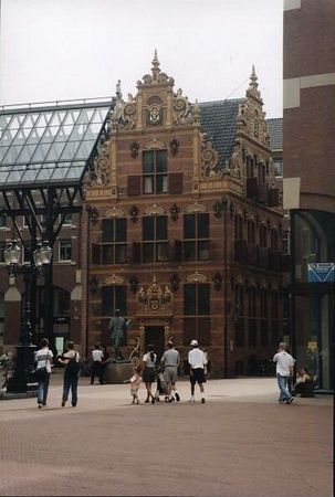 """Het goudkantoortje"", Groningen. This was the taxoffice in the 16th century"