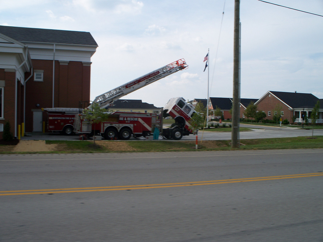 Worthington Fire and Rescue Station