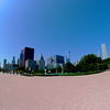 Chicago Skyline View from Buckingham Fountain