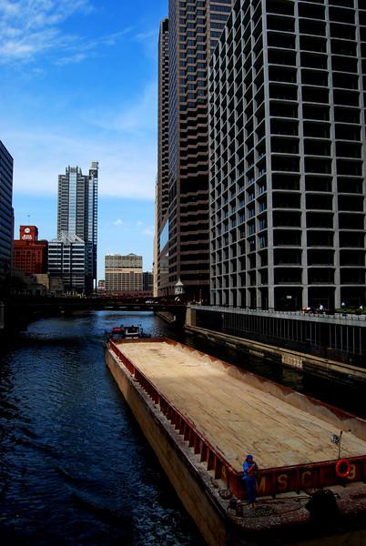 Chicago River at Adams Street