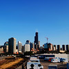 Chicago Skyline View from River West
