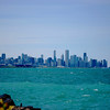 Chicago Skyline From The South