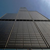 Looking Up At Willis Tower