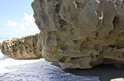 Blowing Rocks Preserve, Jupiter Island, April 12, 2014.
