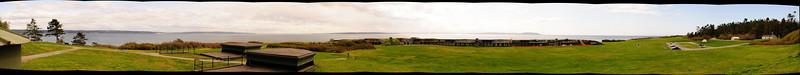 Ft. Casey - a 15 shot panorama
