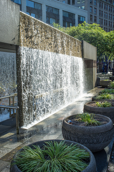Westlake Center Fountain