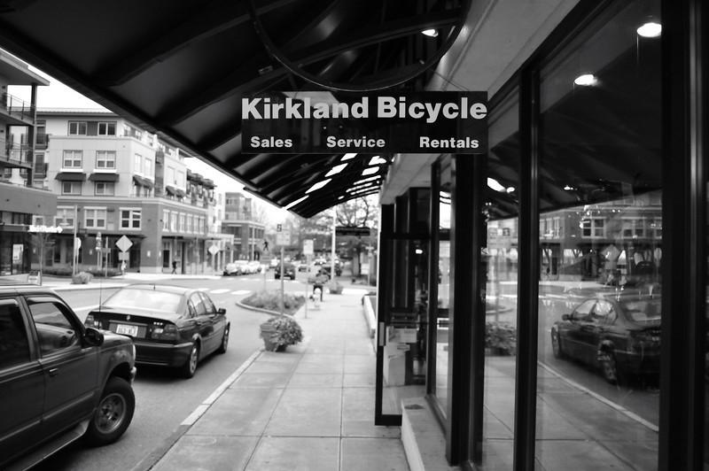 Bicycle shop - sales, service, rentals