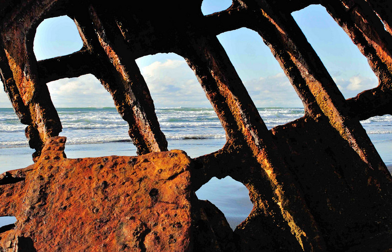 Ft. Steven's State Park, OR - Shipwreck