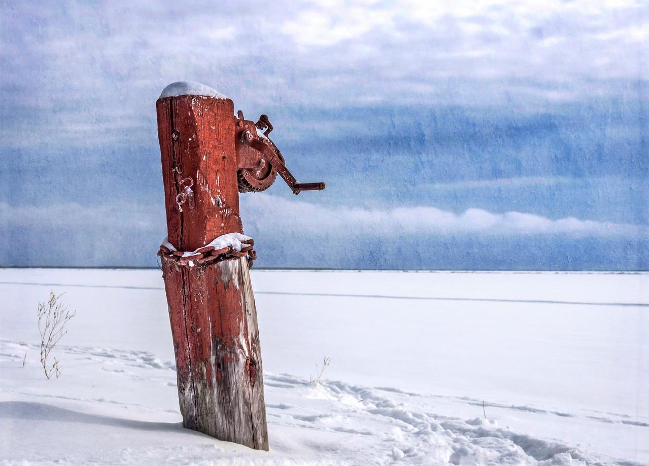 Enduring winter at the lake
