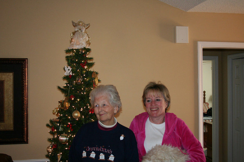 My Grandparents at Christmas 2006