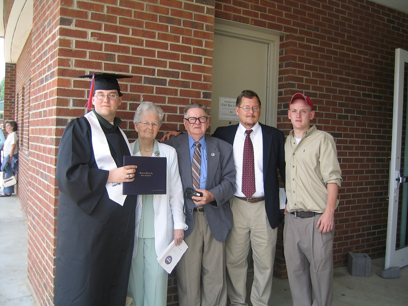 My Grandparents at My University Graduation