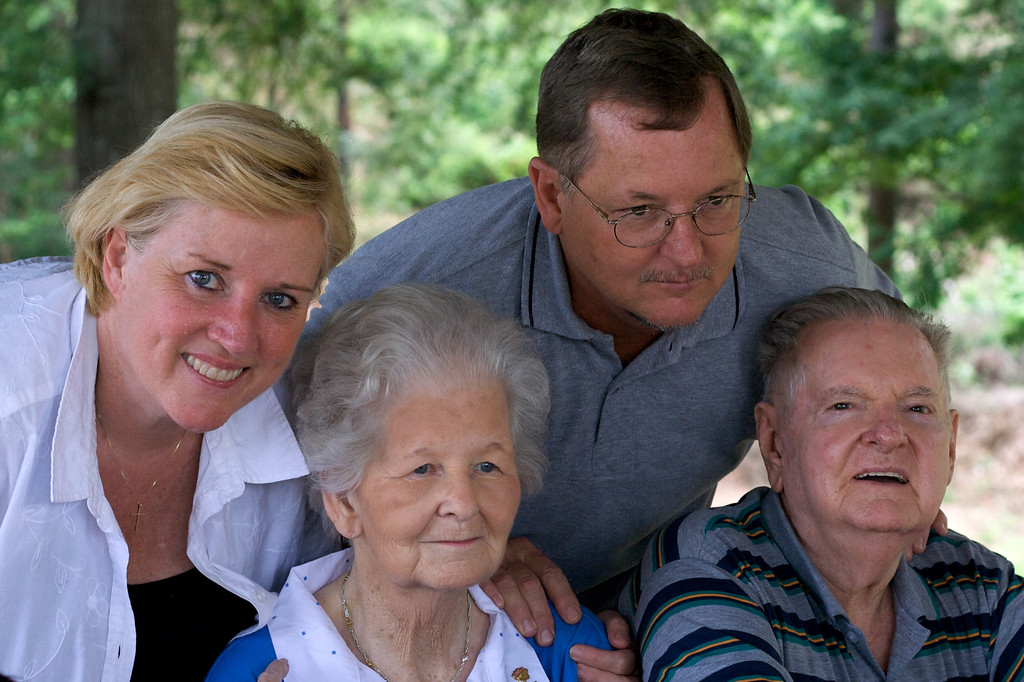 Mom, Dad, Maw Maw, and Paw Paw